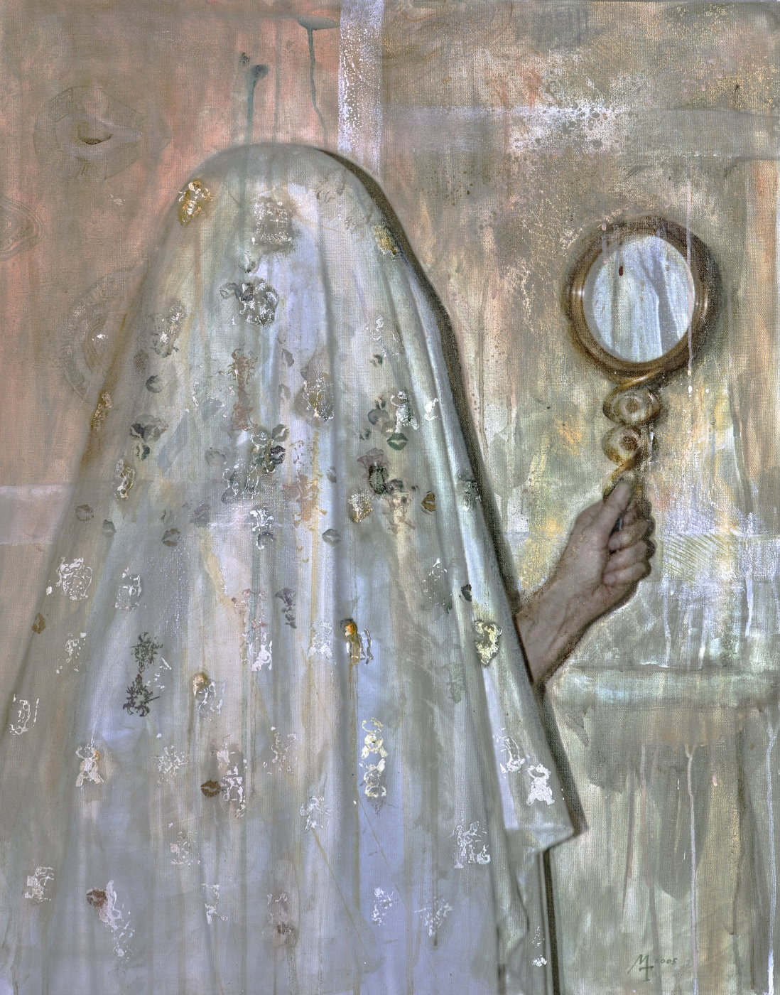 Margarita Tatieva. By the mirror