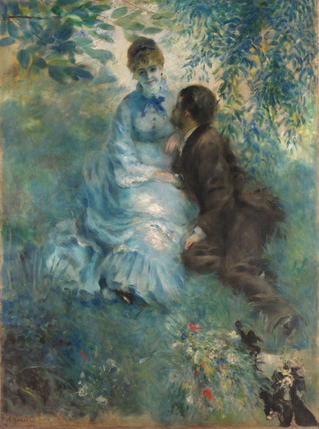 Pierre-Auguste Renoir. Lovers