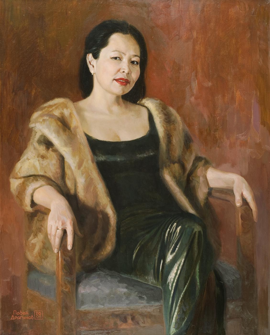 Pavel Gennadievich Dragunov. Portrait of Dana