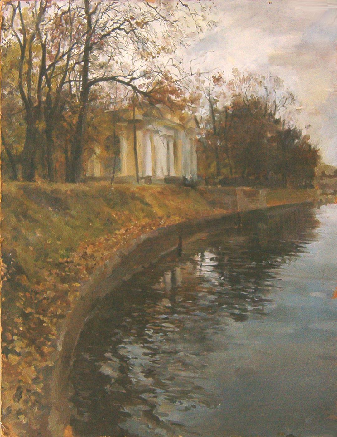 Dmitry Nayda. Autumn in Petersburg