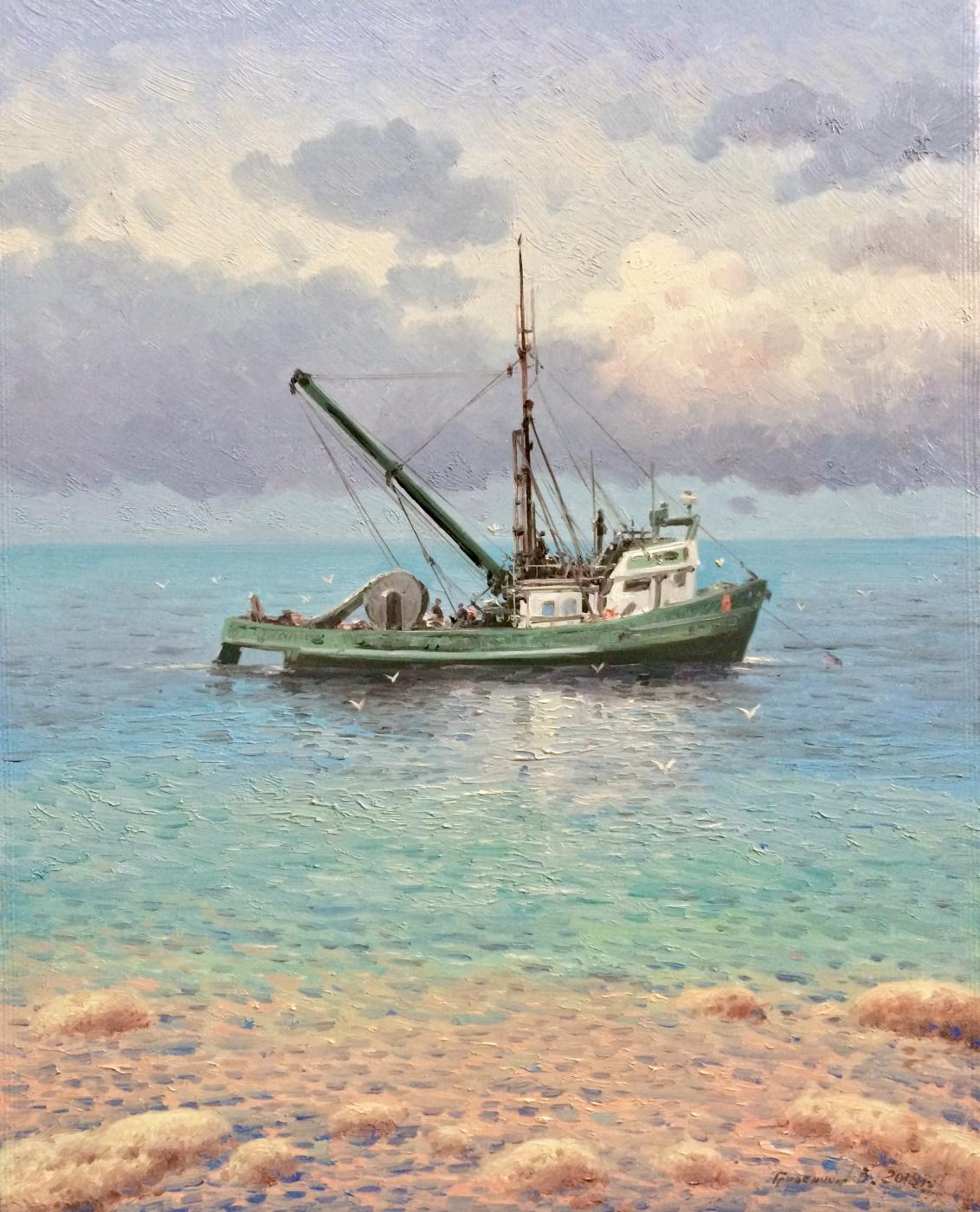 Vasily Ivanovich Gribennikov. Fishing vessel