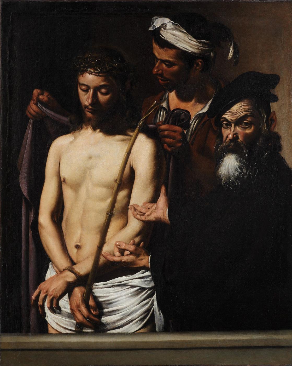 Michelangelo Merisi de Caravaggio. Behold The Man