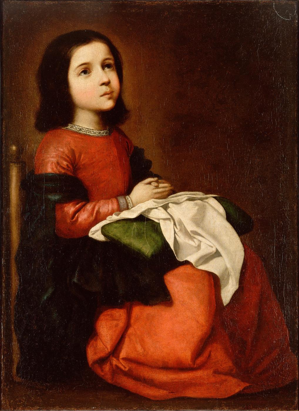 Francisco de Zurbaran. The Adolescence Of The Virgin