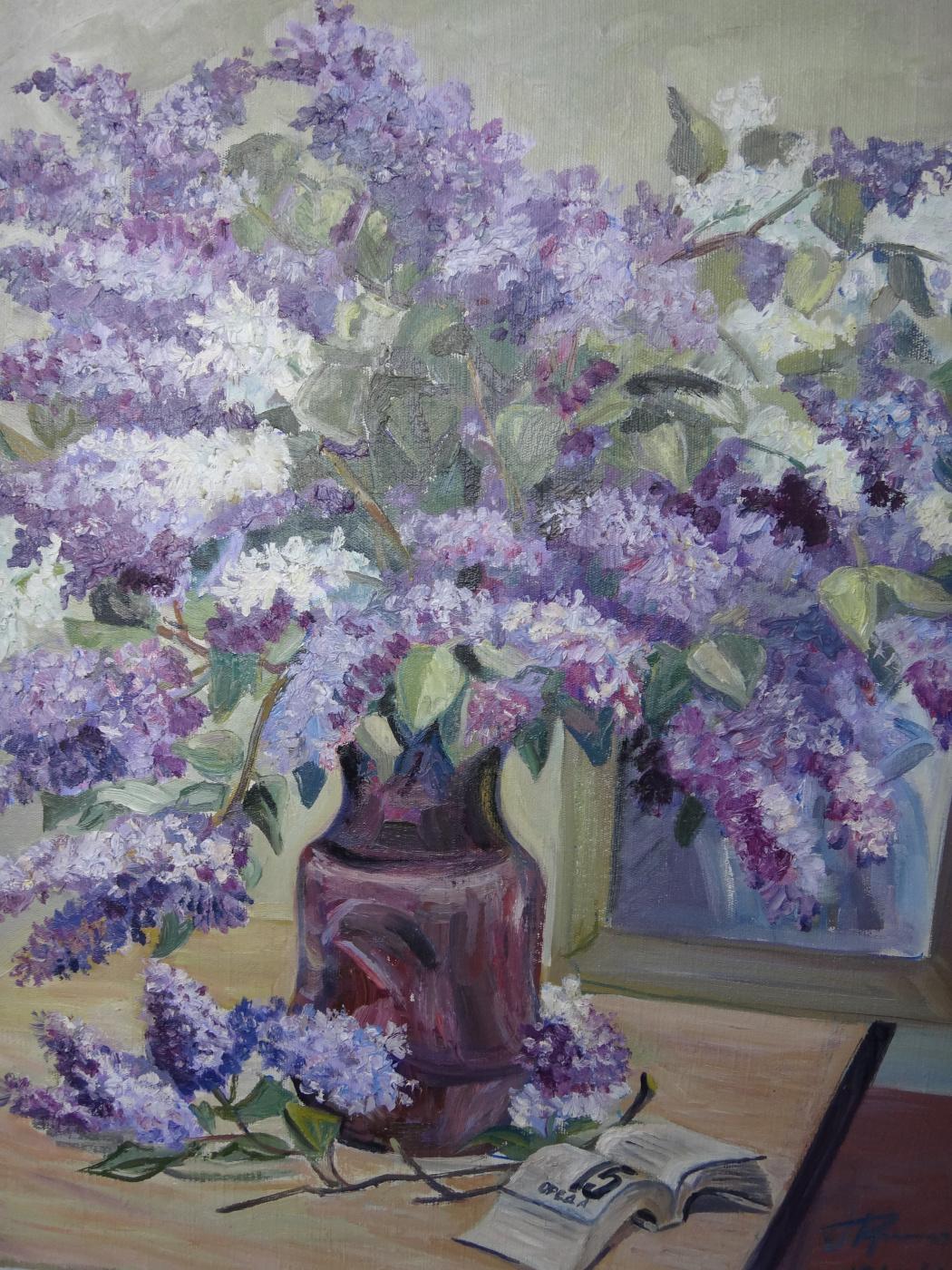 Grigory and Valentina Krepachyov. A Bouquet Of Spring