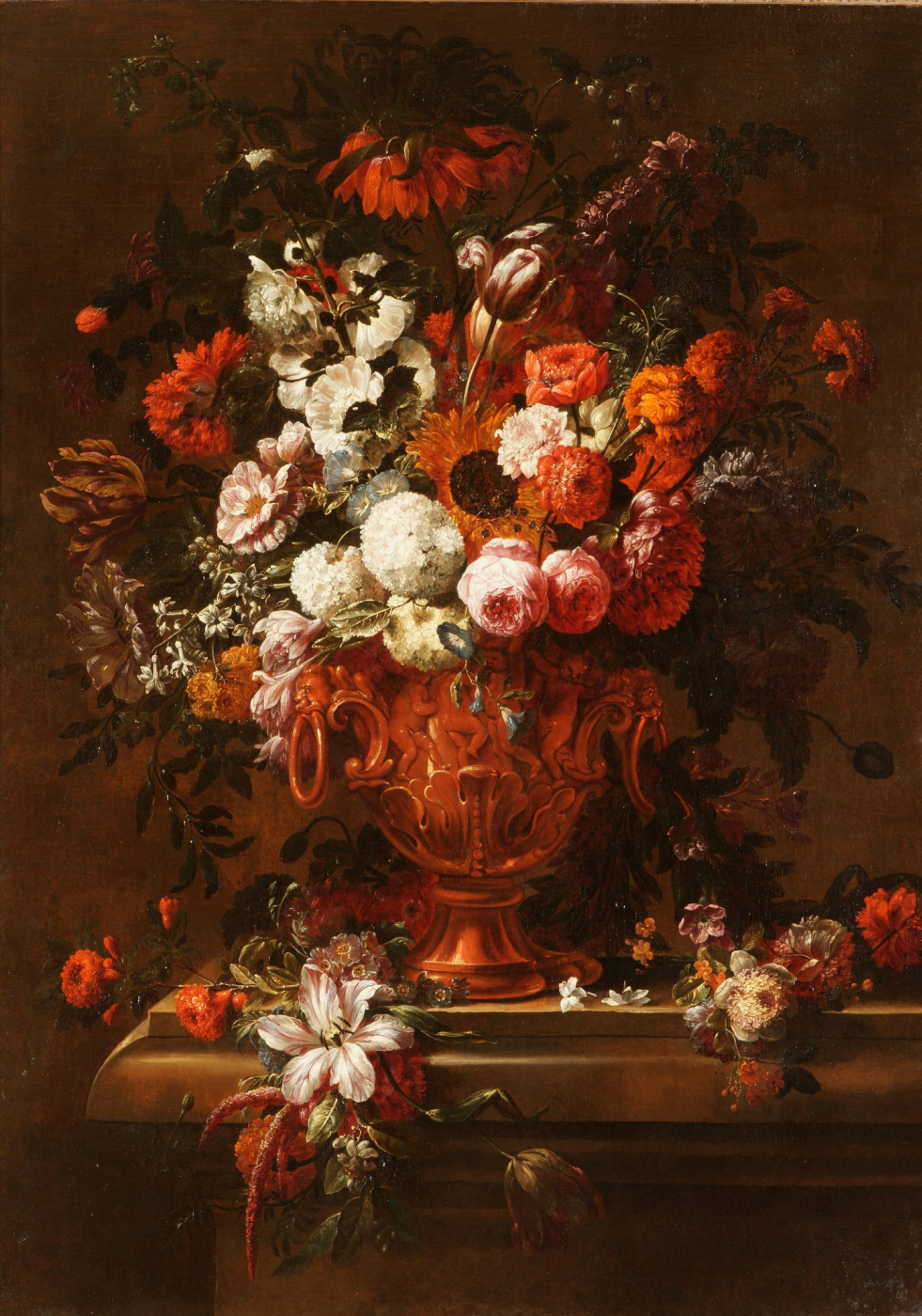 Gasper Peter Verbruggen Jr.. Floral still life