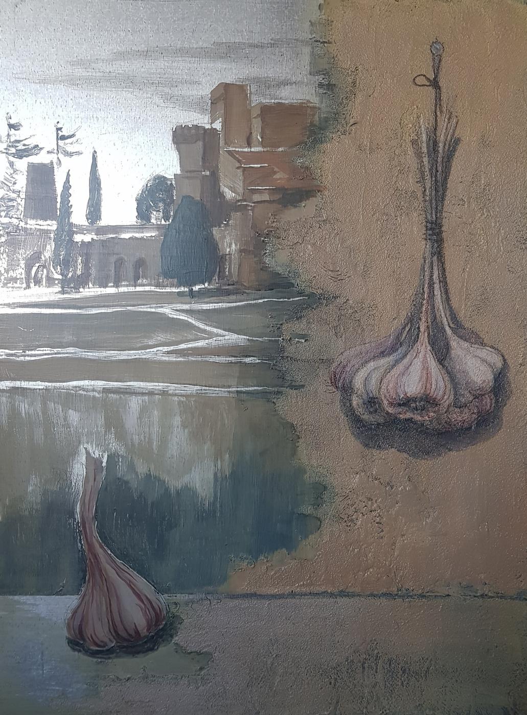 Larisa Lomakina. Lourmarene garlic