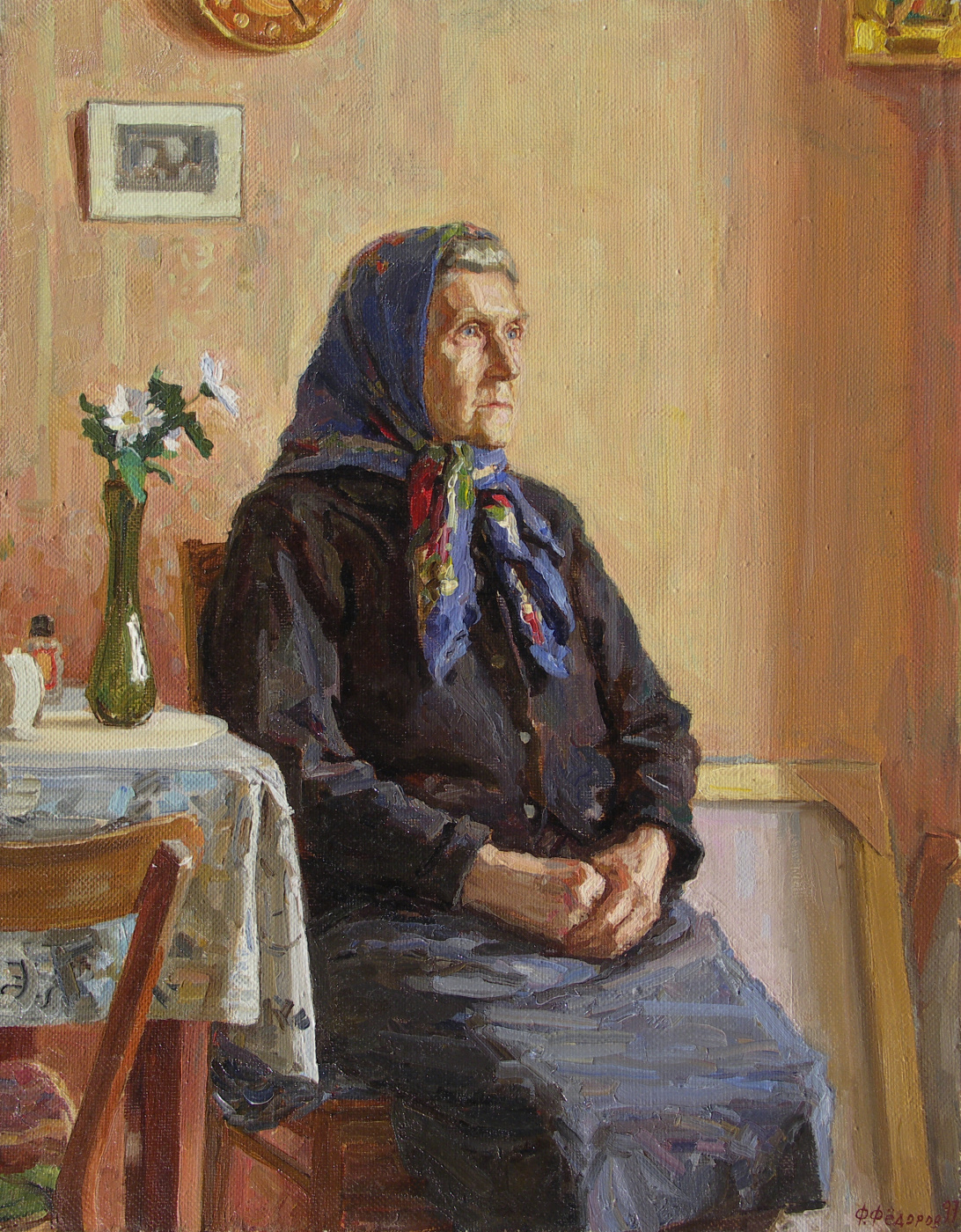 Фёдор Борисович Фёдоров. Grandmother