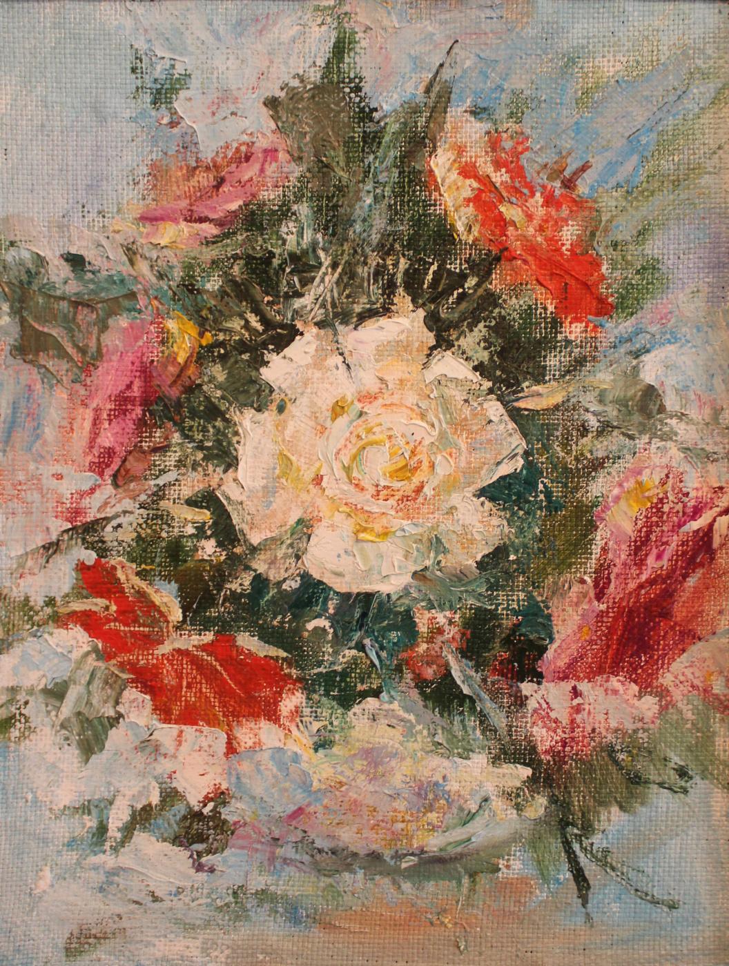 Love Sergeyevna Nikulina. Roses