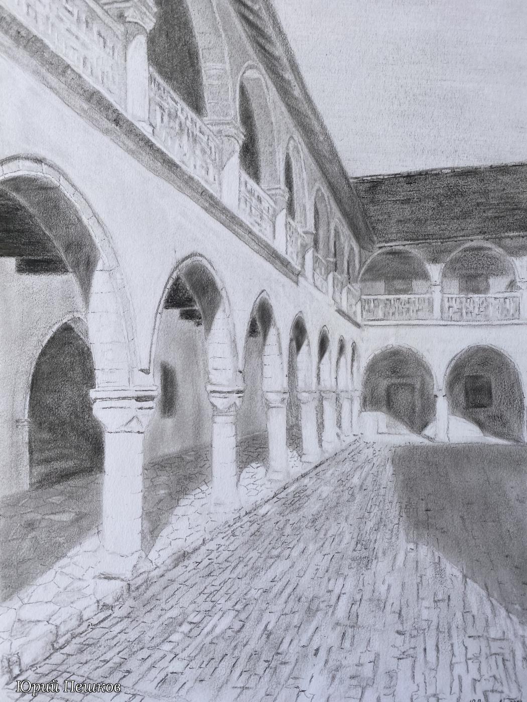 Yury Peshkov. Monastery. Omodos. Cyprus.