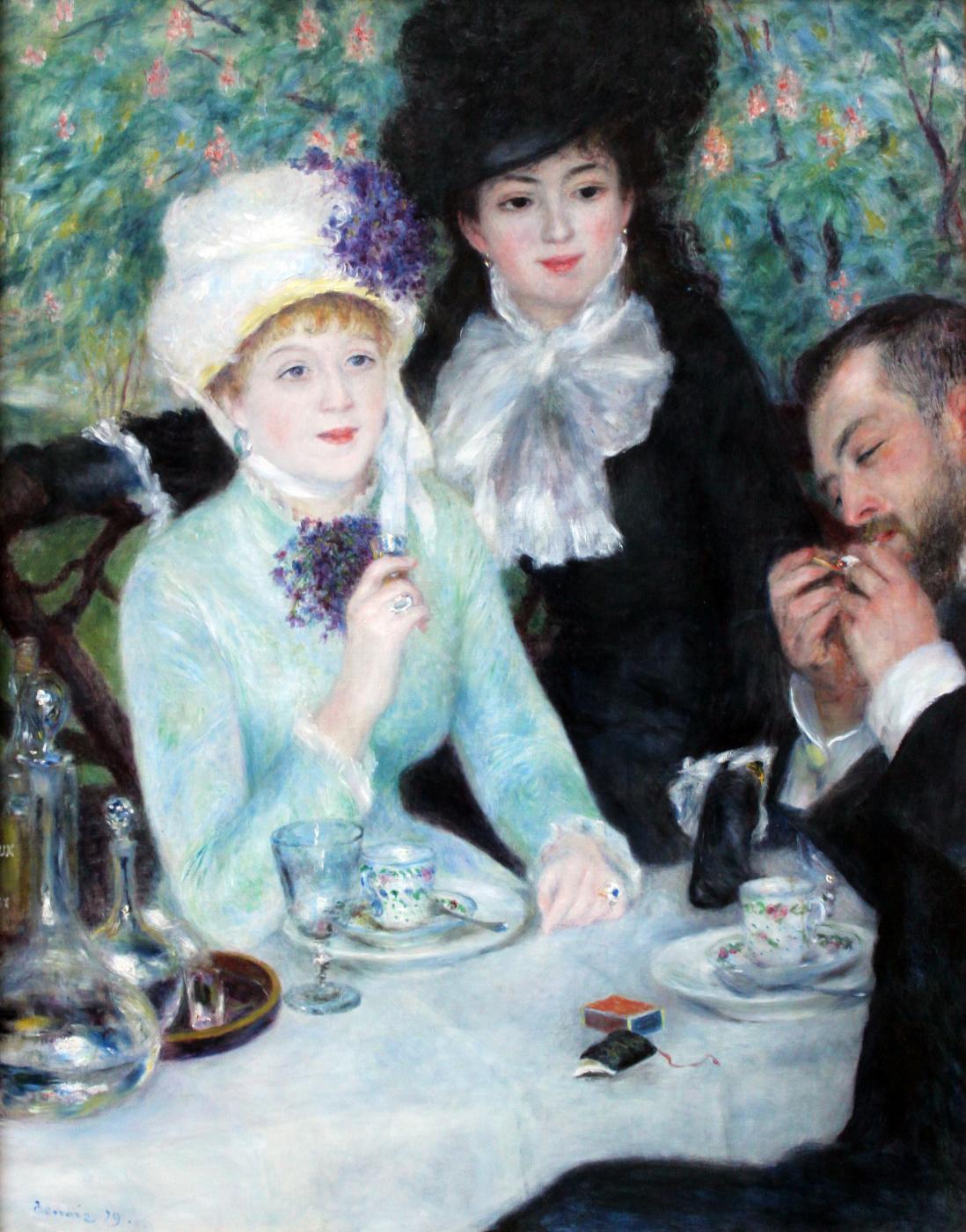 Pierre-Auguste Renoir. After Breakfast