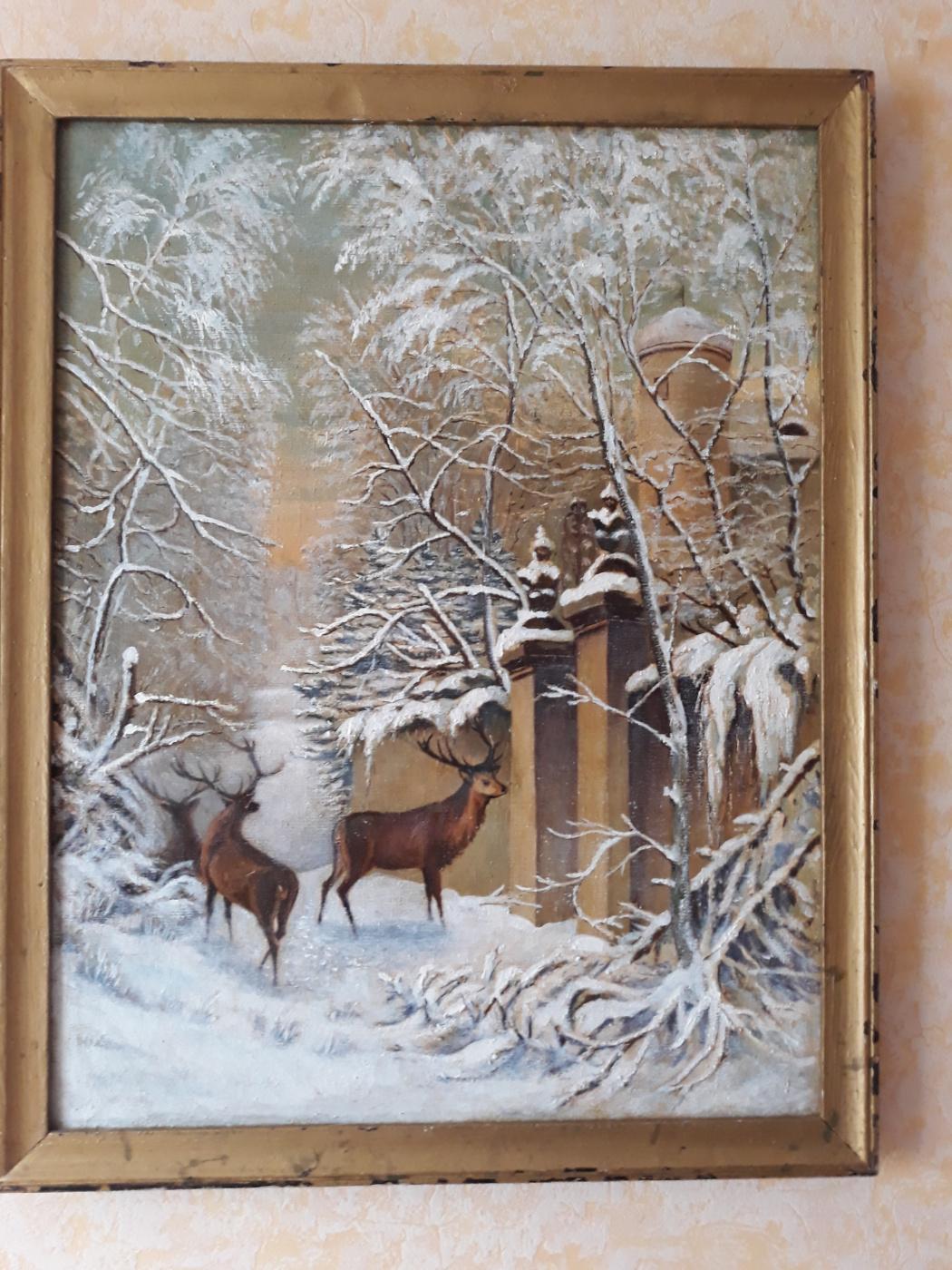 Grigory Pavlovich Lazun. Winter