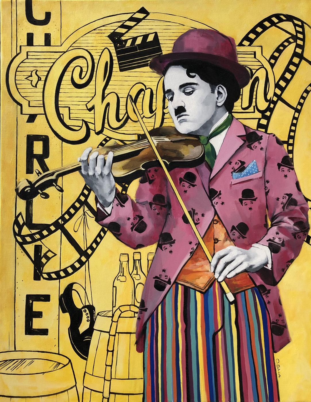 Olga Shatskaya. Charlie Chaplin