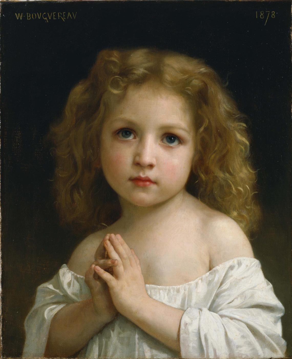William-Adolphe Bouguereau. Baby girl