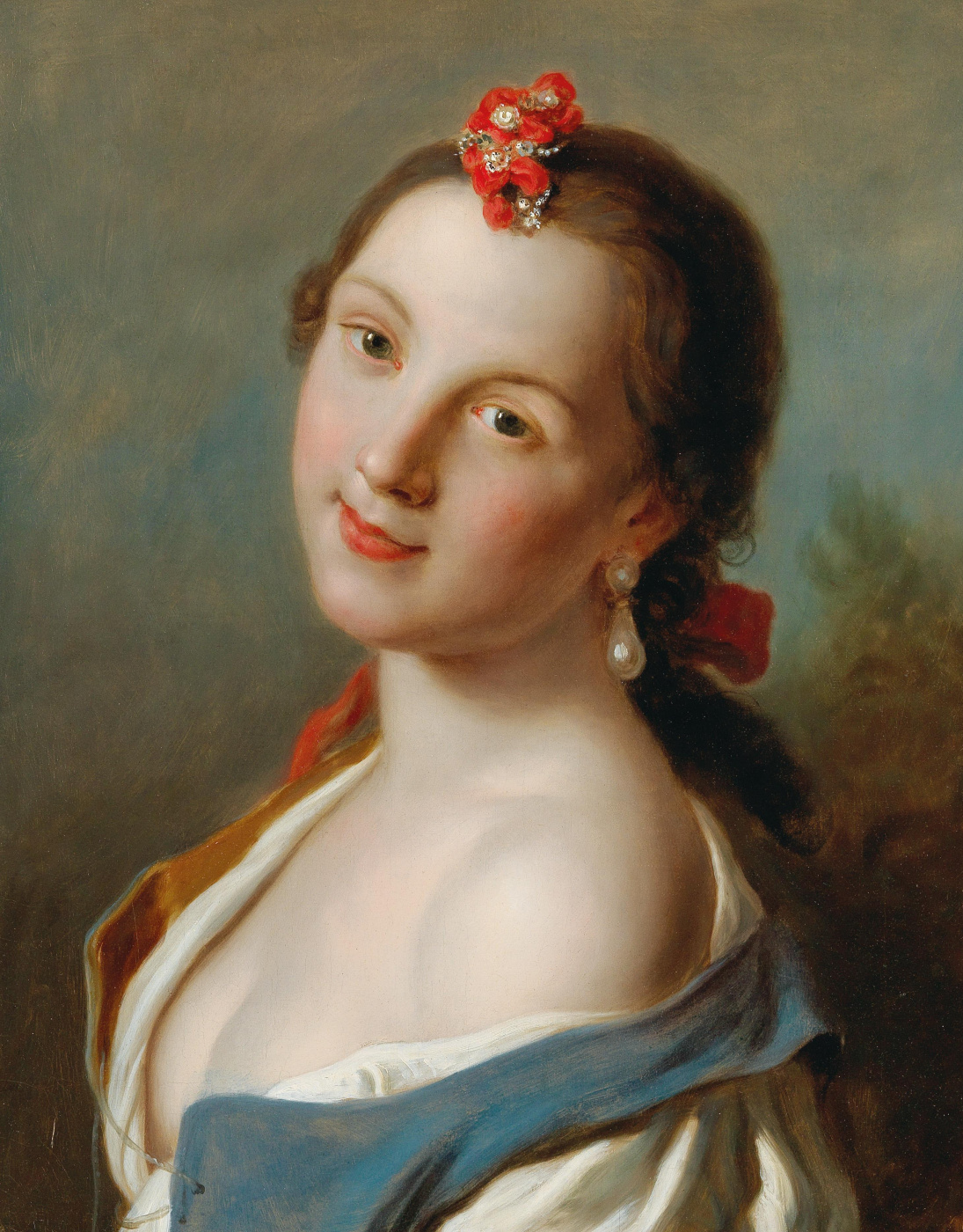 Pietro Rotary. Portrait of a young woman