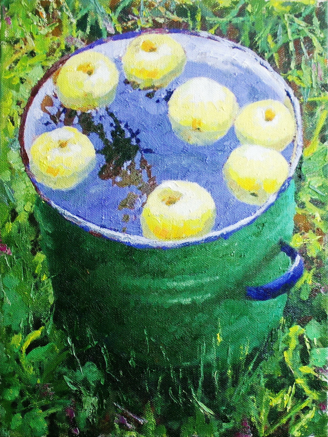 Михаил Рудник. Apples on the water