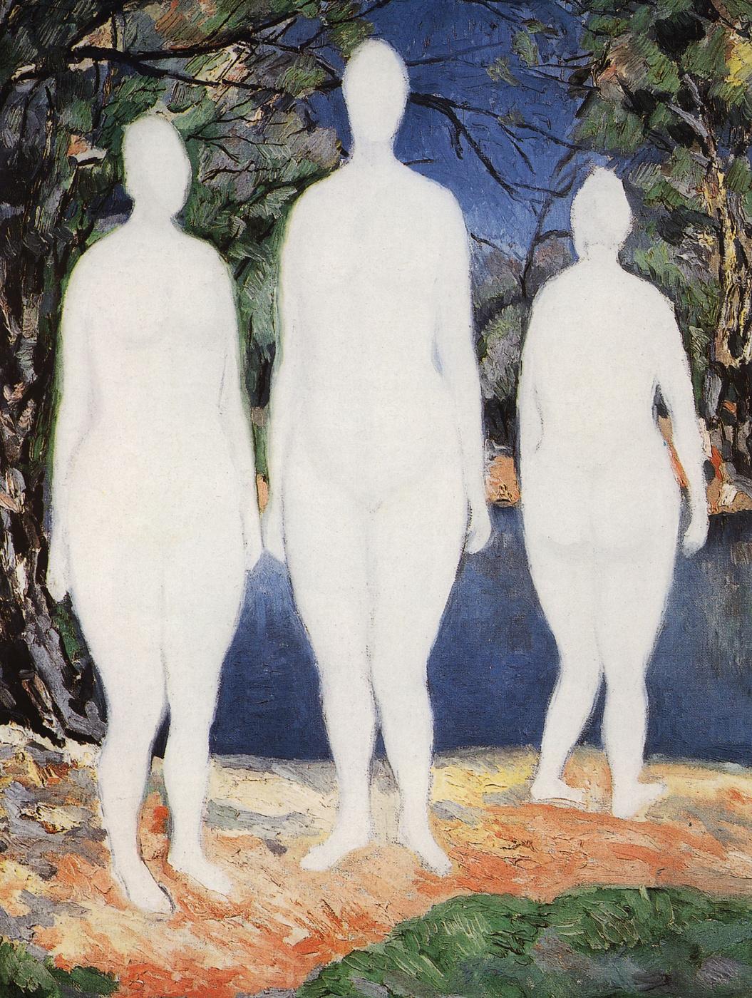 Kazimir Malevich. Bathers