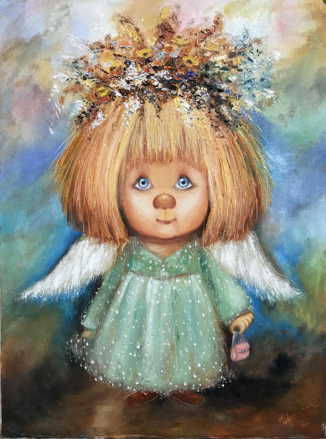 Svetlana Ivanova. Sky Angel