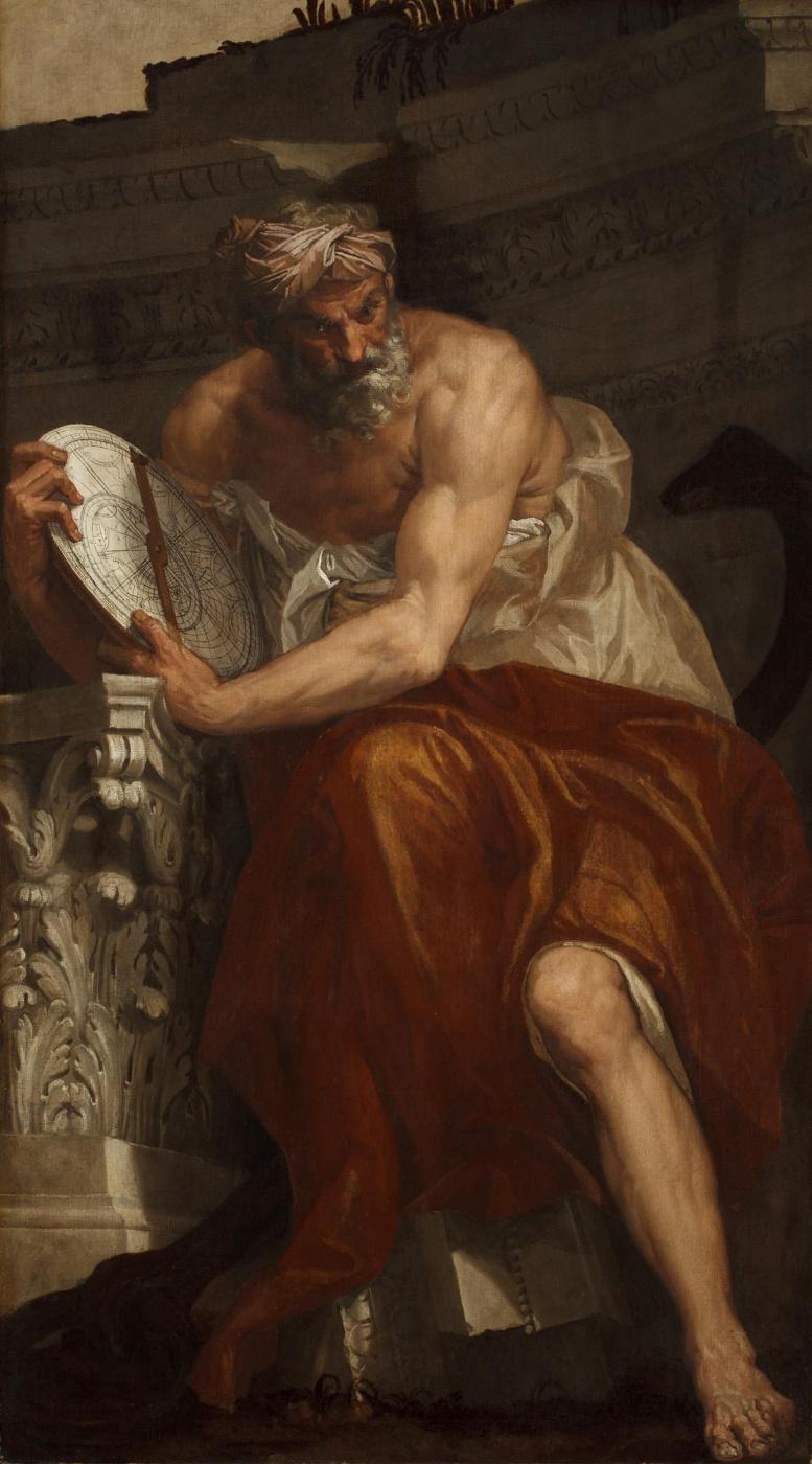 Паоло Веронезе. Птолемей. Аллегория навигации с астролябией