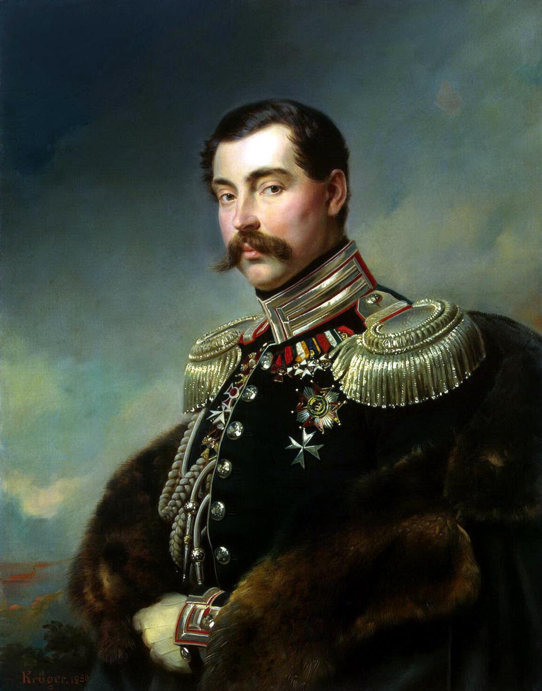 Franz Kruger. Portrait Of Andrey Alexandrovich Obolensky