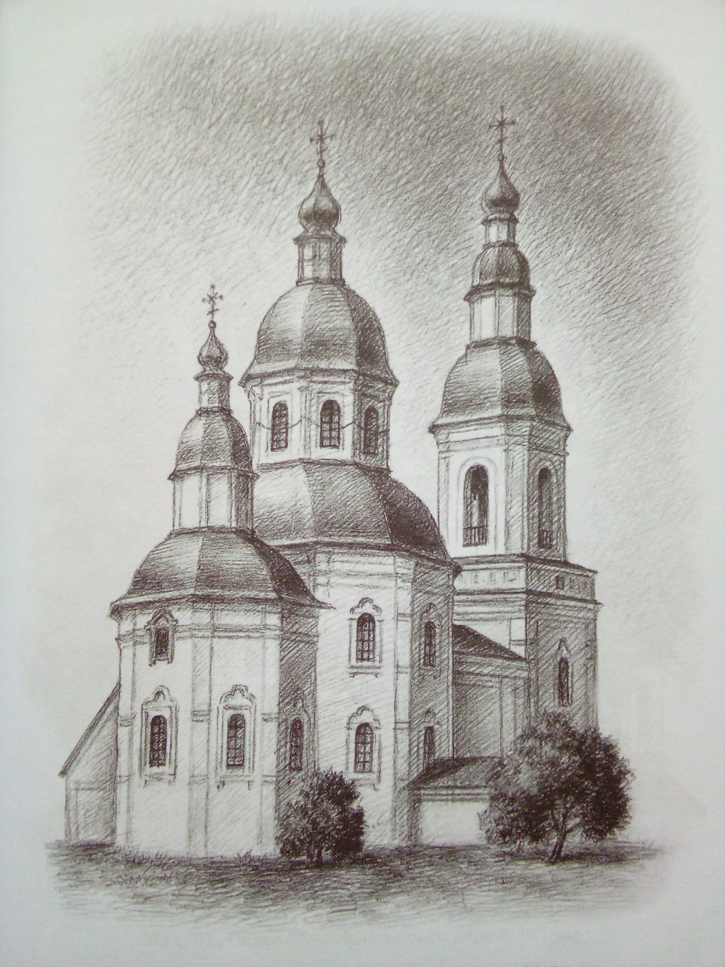 Ruslan Vasilievich Derevtsov. Church of St. Nicholas. (1683-1695)