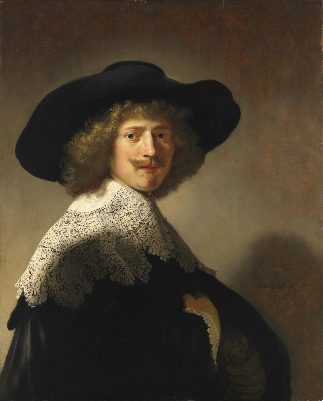 Rembrandt Harmenszoon van Rijn. Portrait of Antonie Coopal
