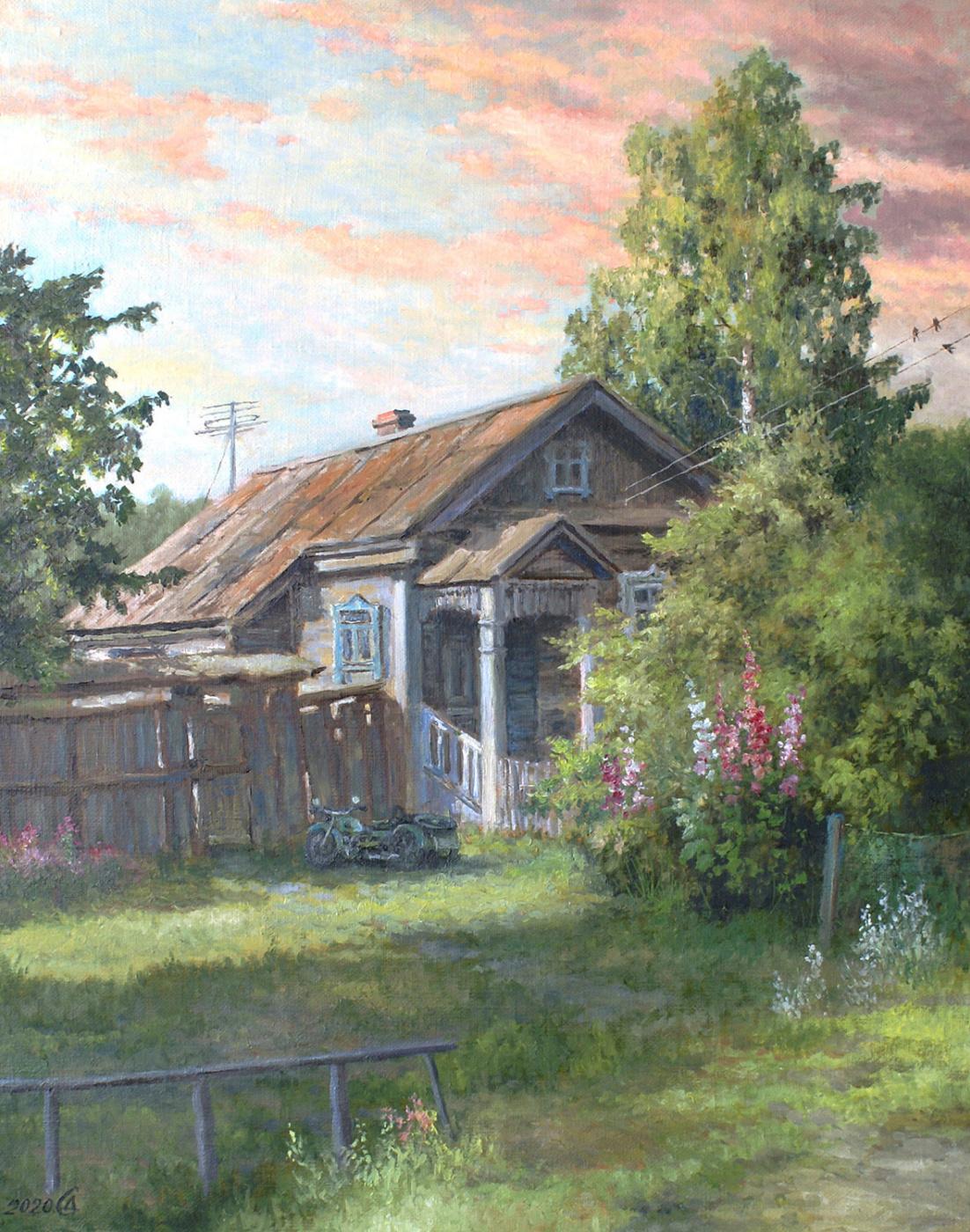 Сергей Владимирович Дорофеев. Morning in Gorokhovets
