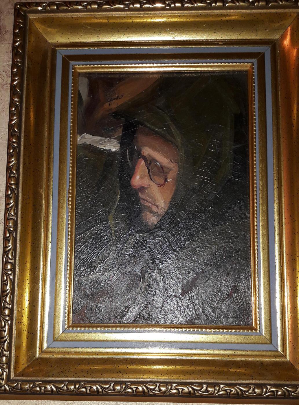 Mikhail Alexandrovich Kupriyanov. Portrait of a man