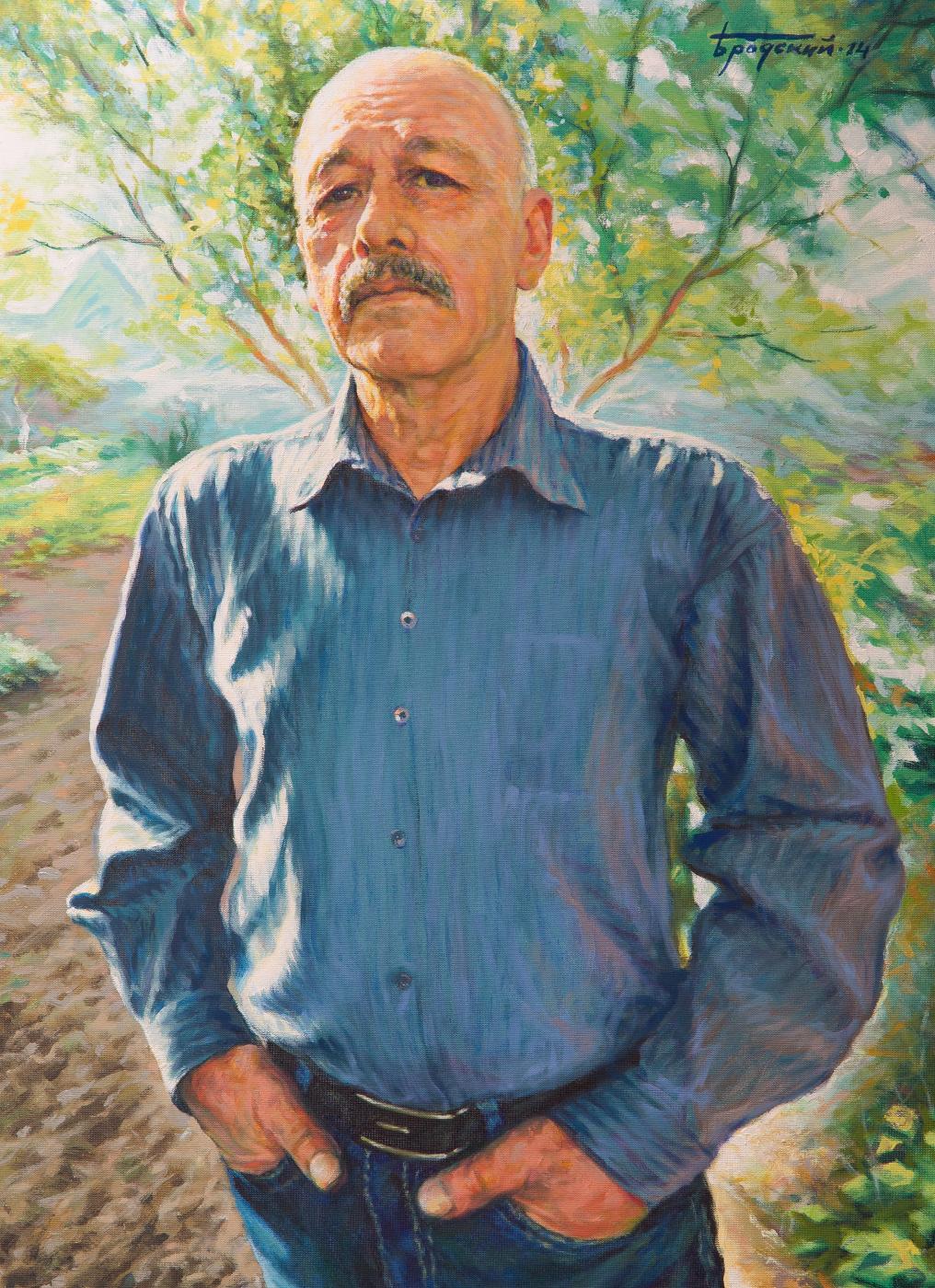 David Shikovich Brodsky. Lefty from Kiev