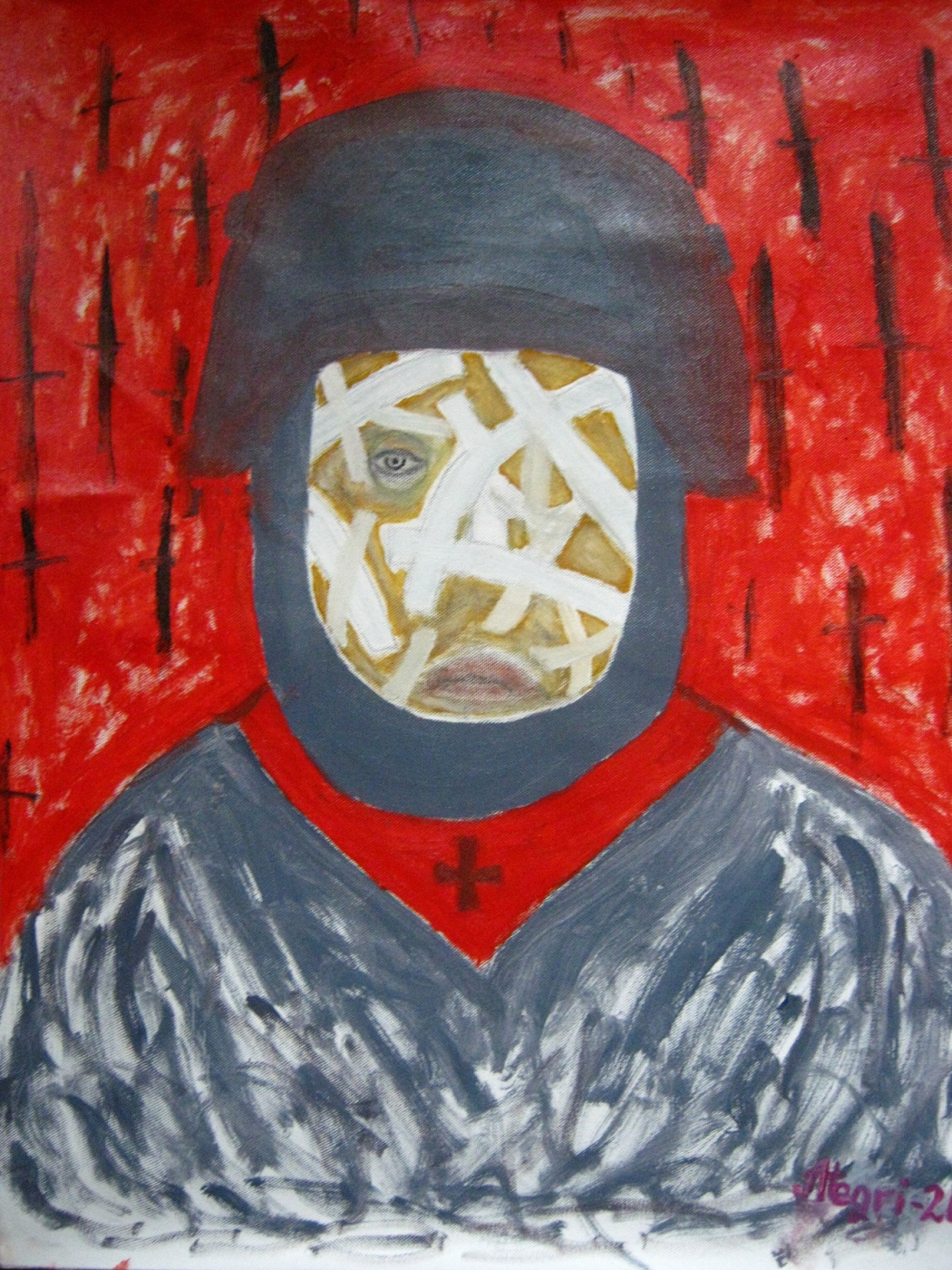 "Alexey Grishankov (Alegri). ""The Face of the War. Stalingrad-1942"""