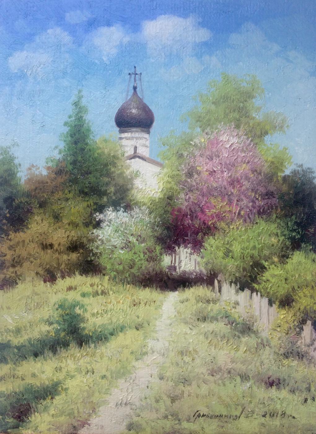 Vasily Ivanovich Gribennikov. May day