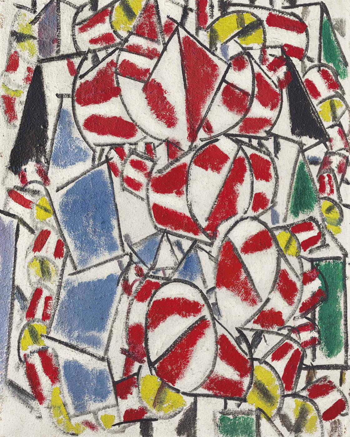 Fernand Leger. Contraste de formes