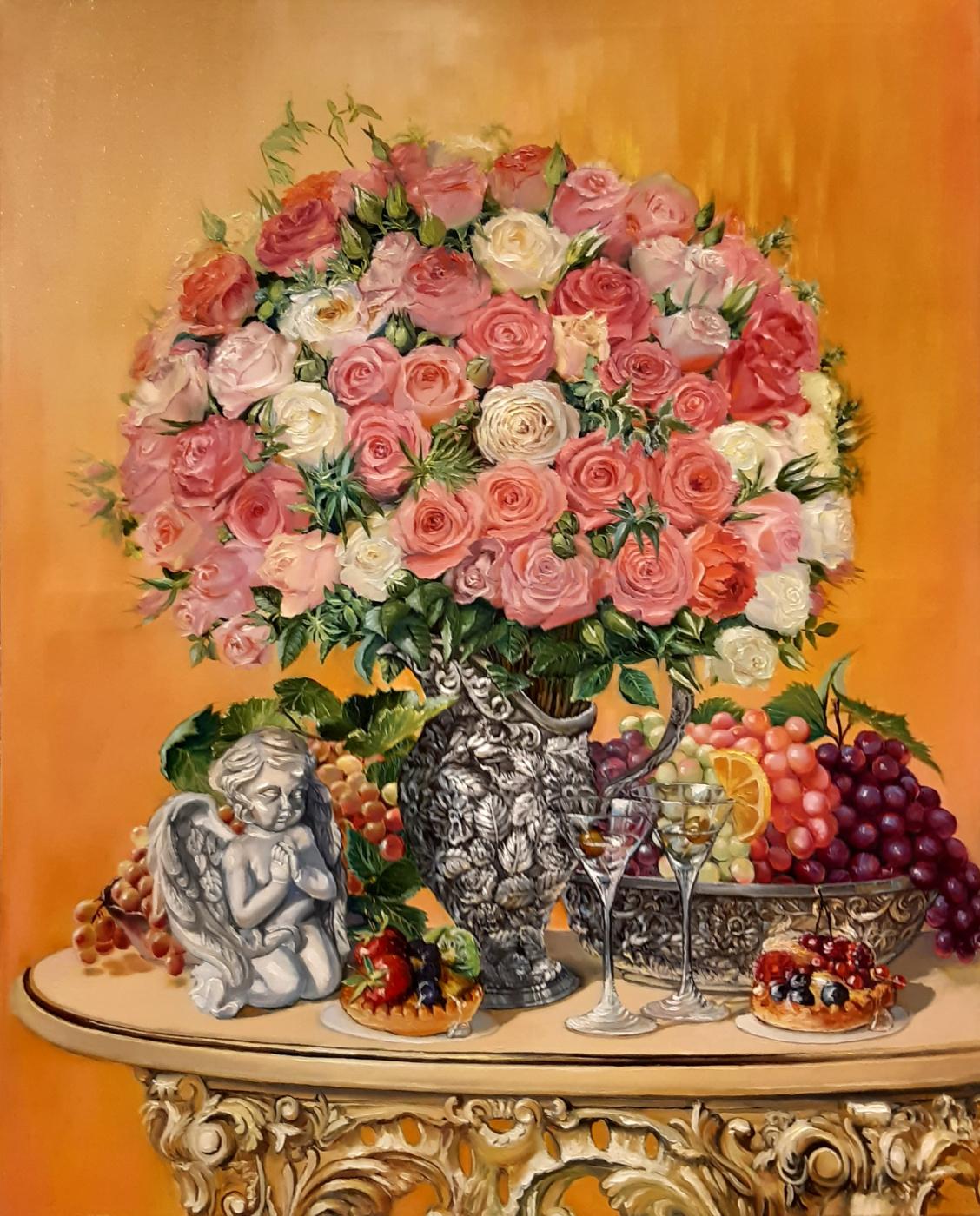 Evgeny Vladimirovich Terentyev. Bouquet with an angel 4