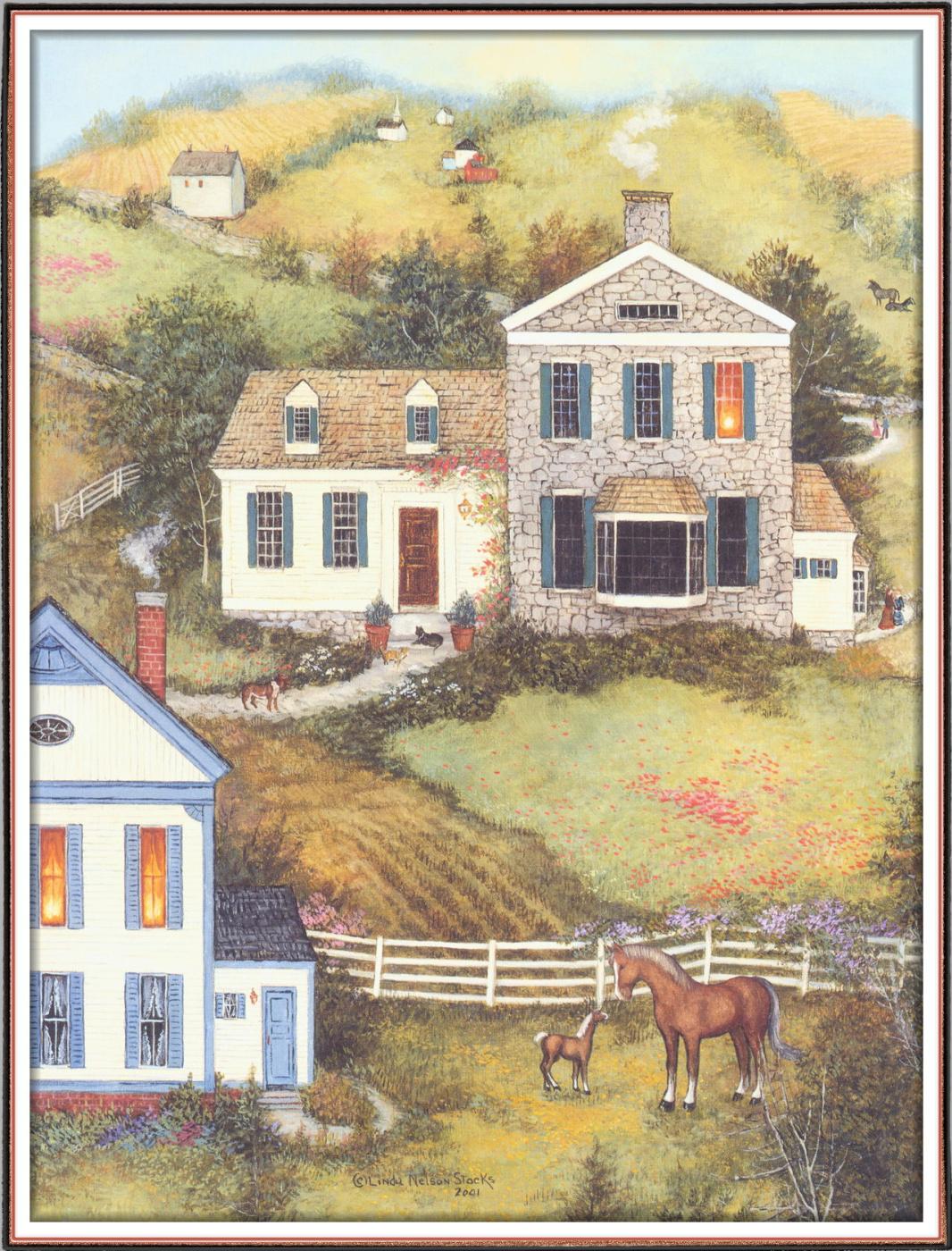 Linda Nelson Stokes. Home