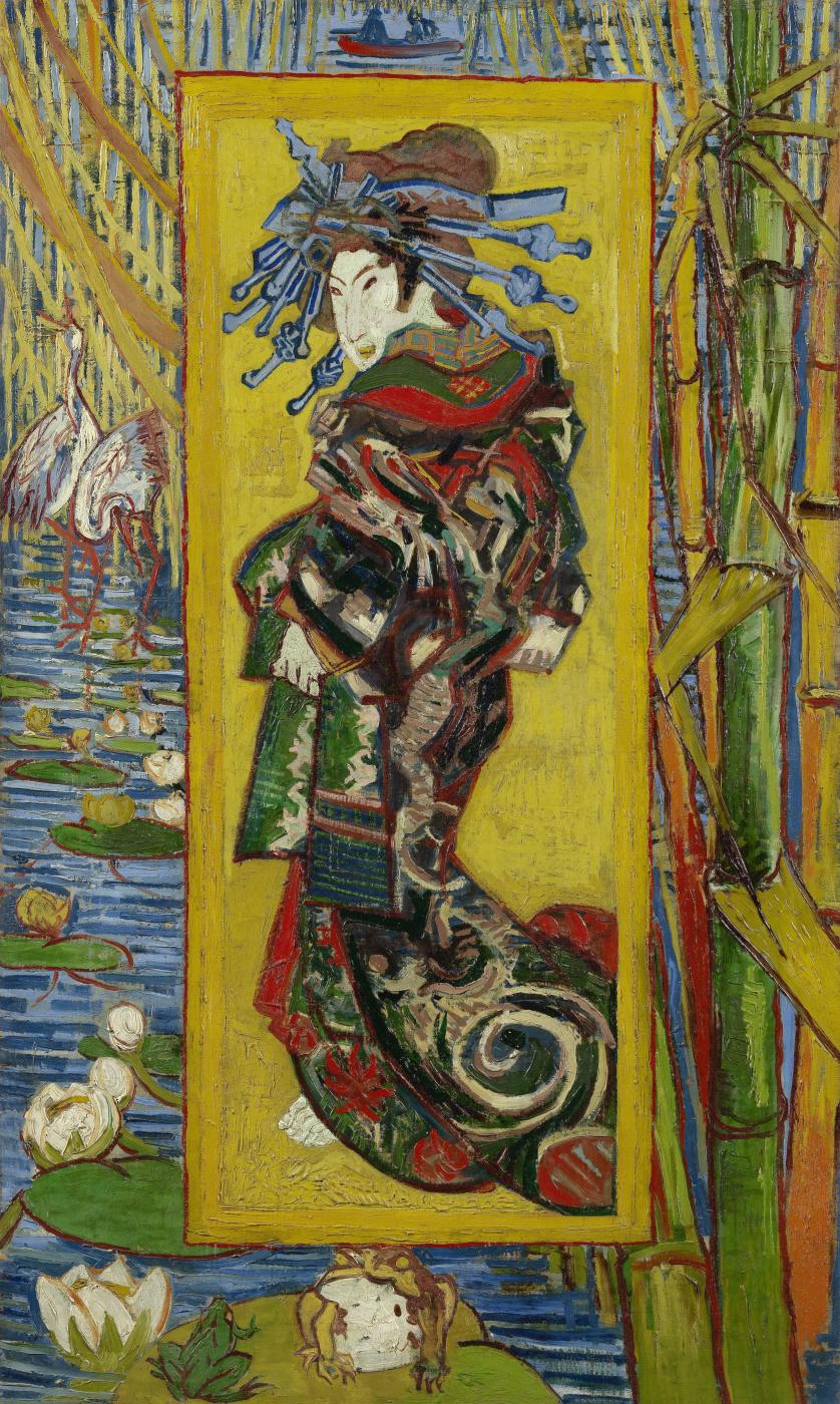 Vincent van Gogh. Courtesan