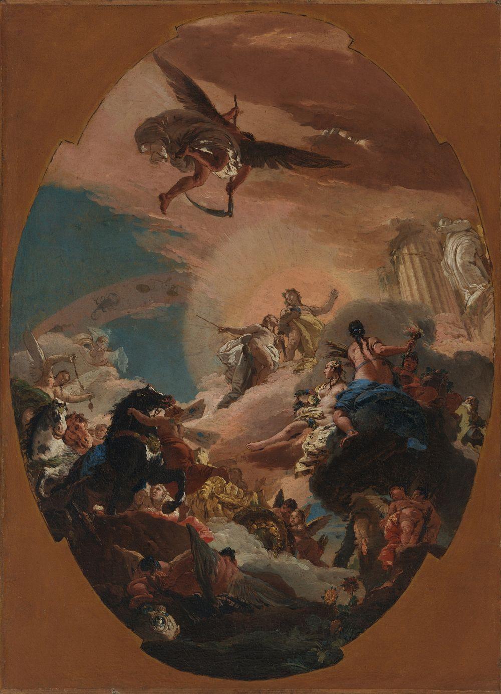 Giovanni Battista Tiepolo. Apollo and Phaeton