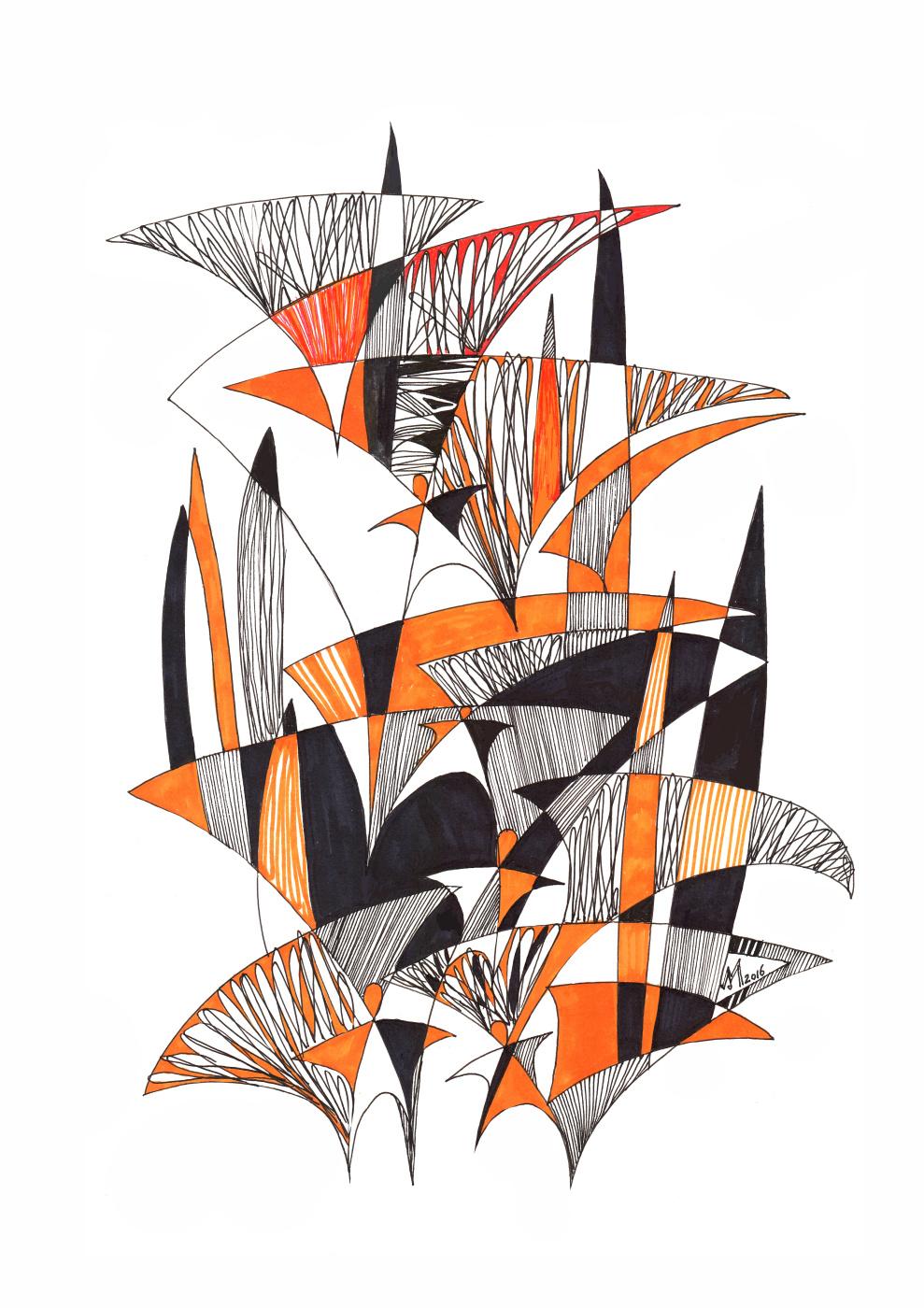 Mokhinur Maksumova. Leaves whisper - fly away