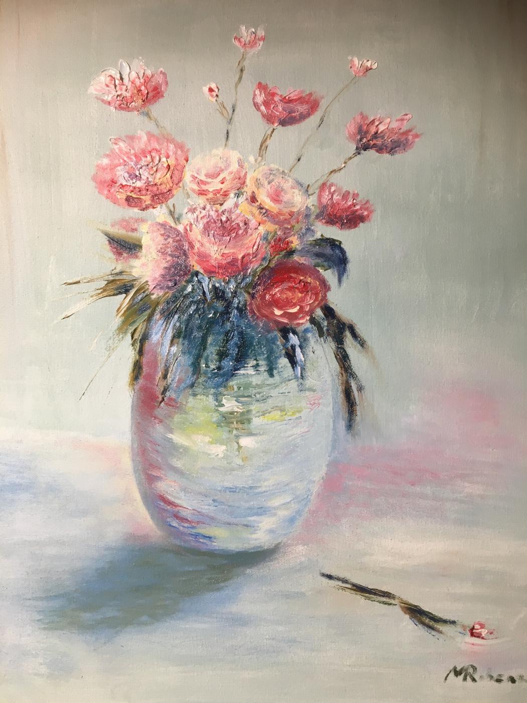 Mihails (Mikhail) Valentinovich Ribenko (Rybenko). Bouquet of flowers in a vase