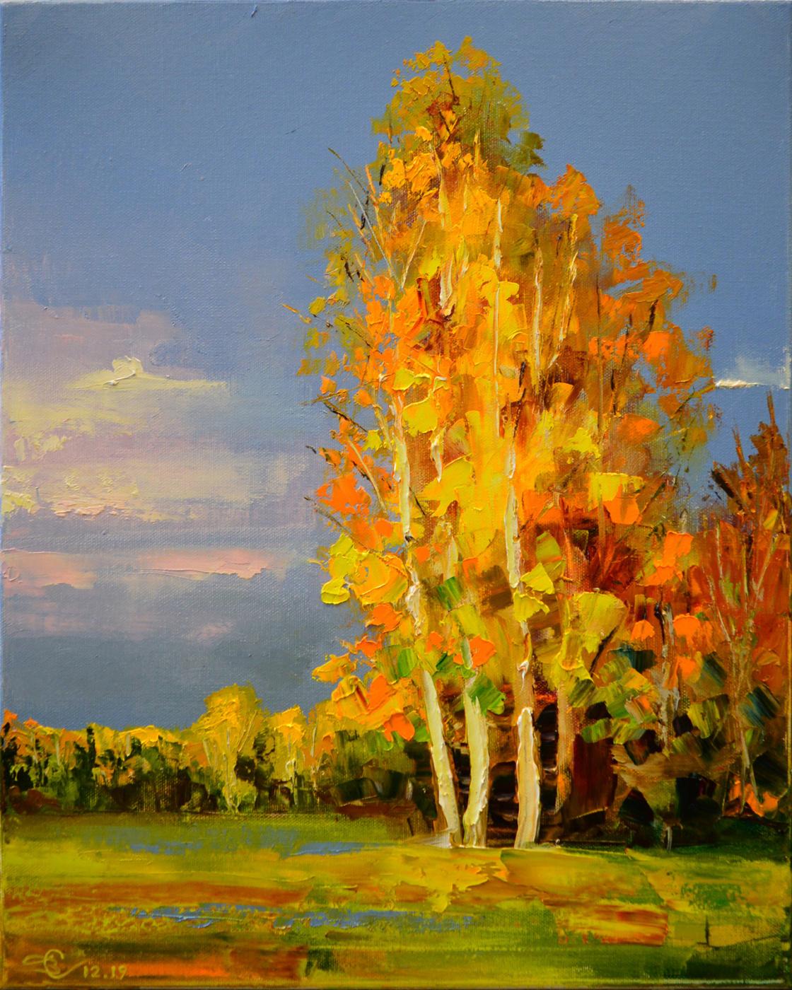 Vadim Anatolyevich Stolyarov. Autumn portrait
