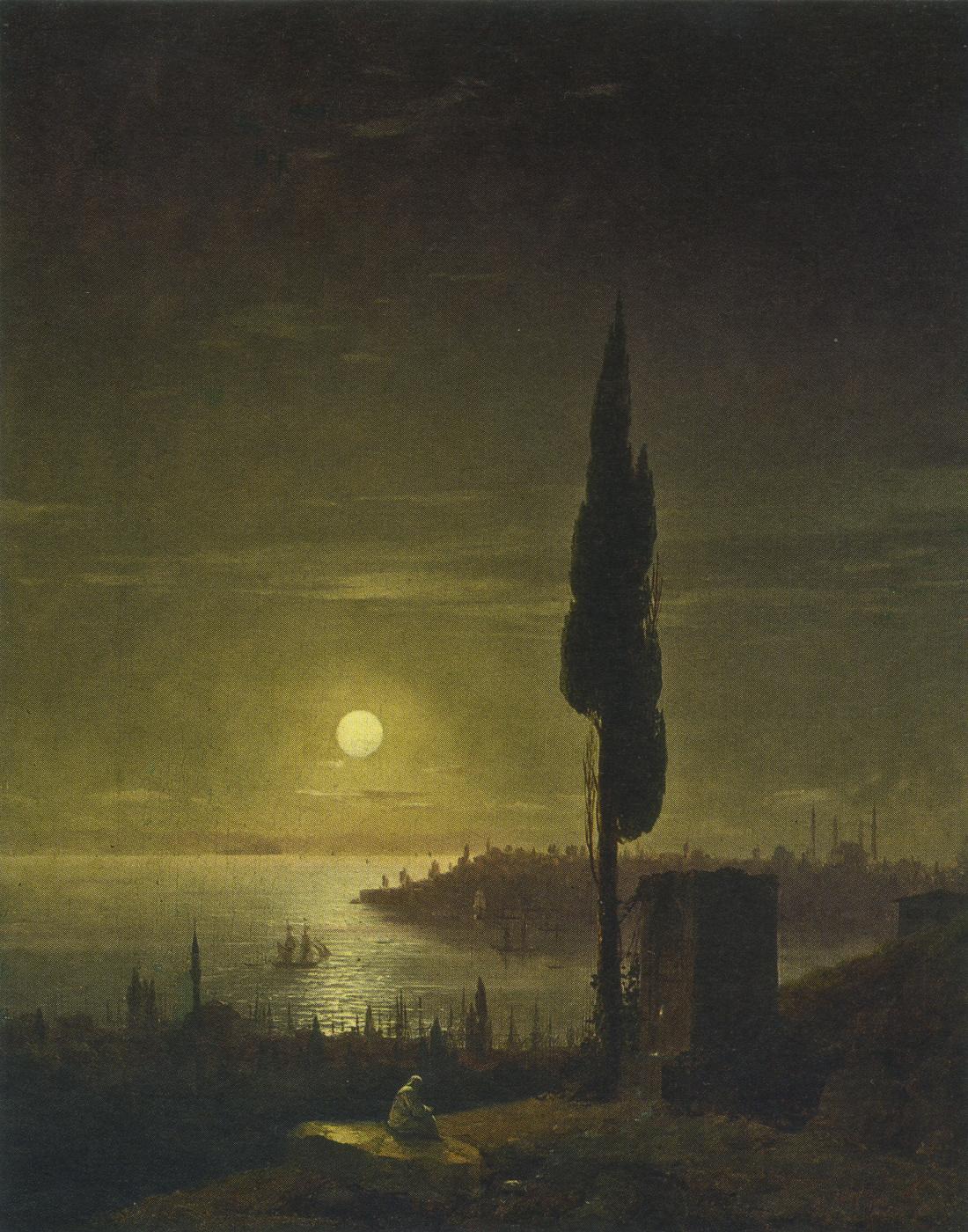 Ivan Aivazovsky. Constantinople