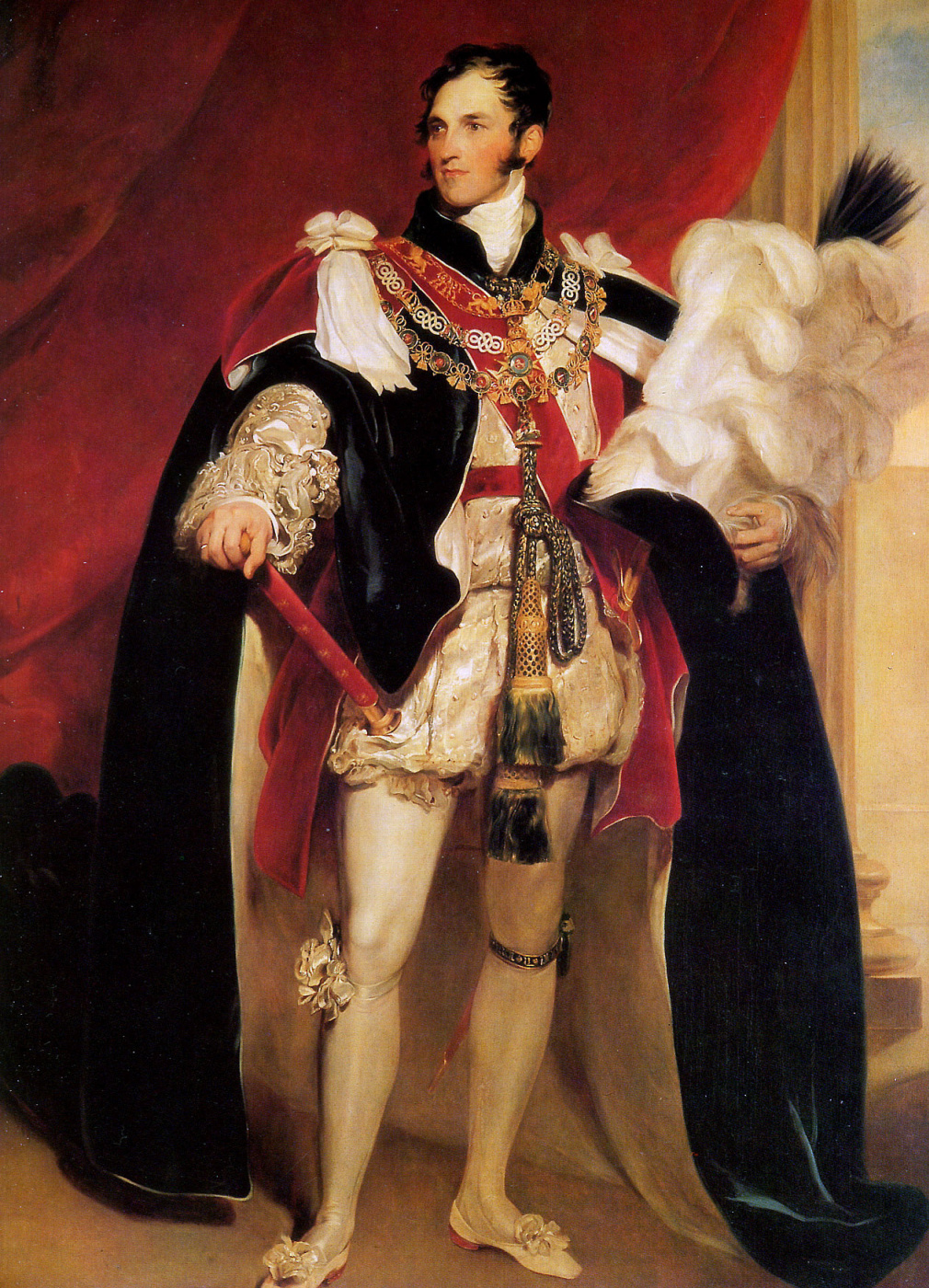 Gustave Vappers. Leopold Of Saxe-Coburg-Saalfeld