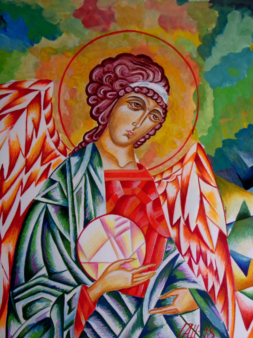 Peter Alexandrovich Shein. Angel