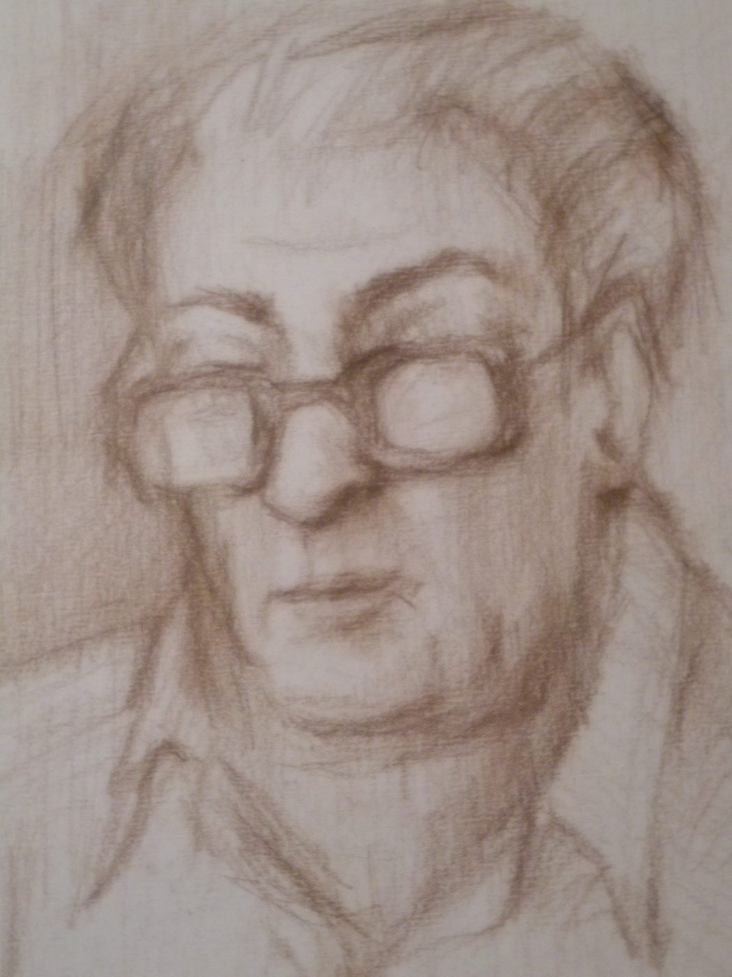 Nino Archilovna Givishvili. Portrait of a father.
