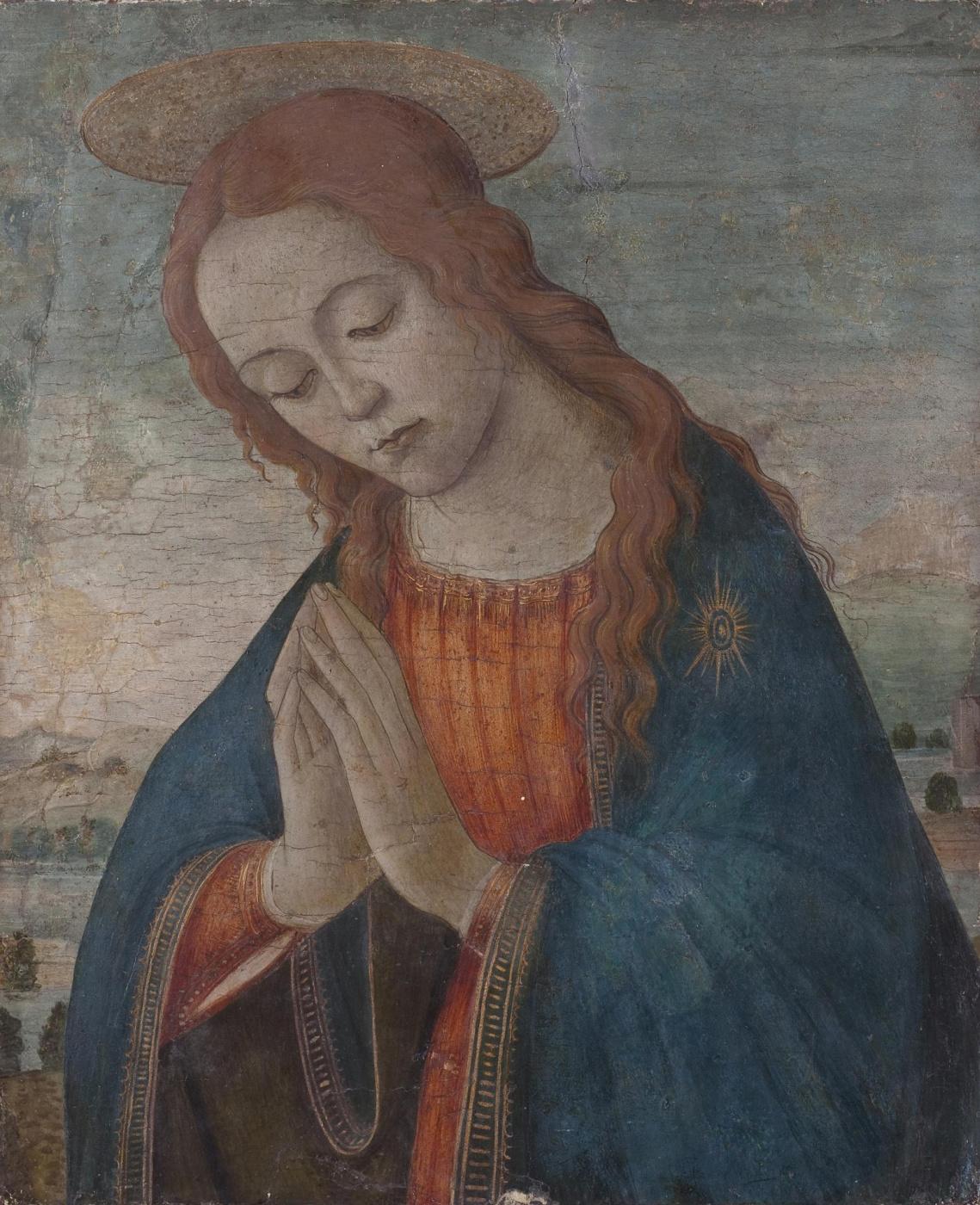 Sandro Botticelli. Praying Madonna