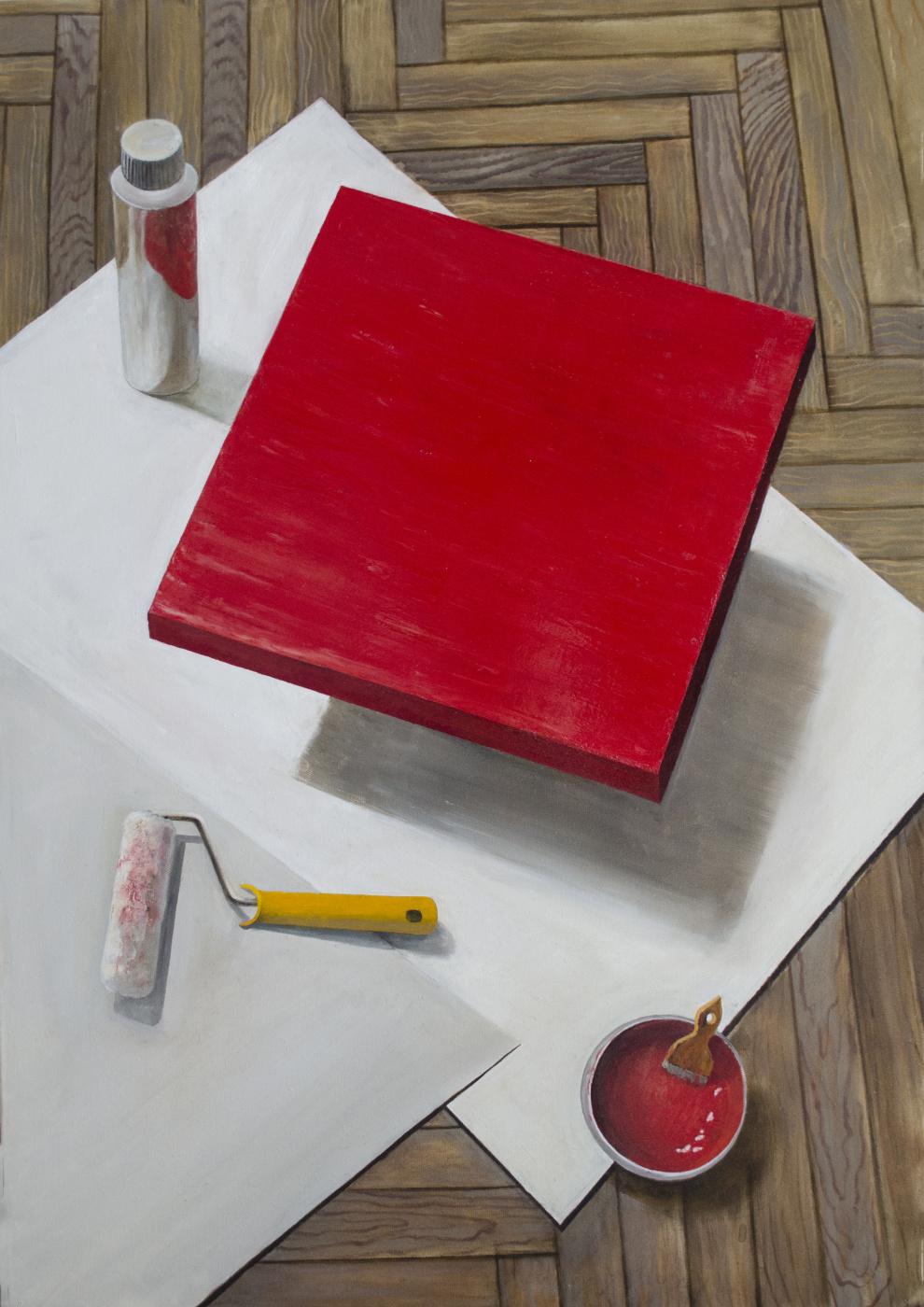 Mikhail Mikhailovich Medvedev. Red stool