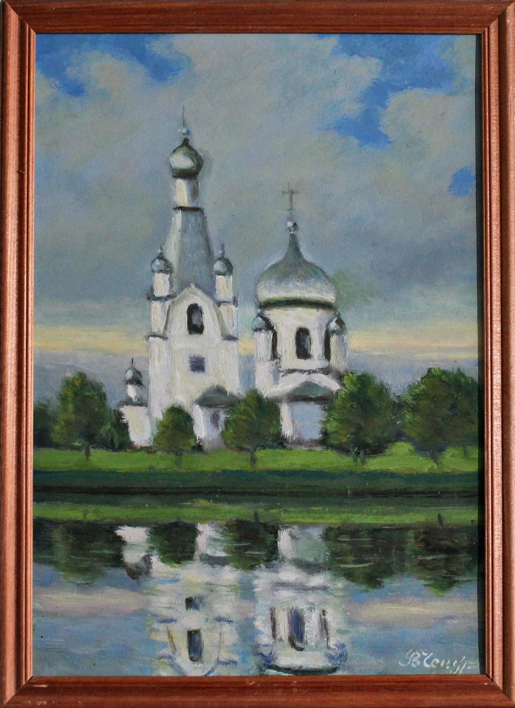 Victor Andreevich Chepurko. Church of the Nativity