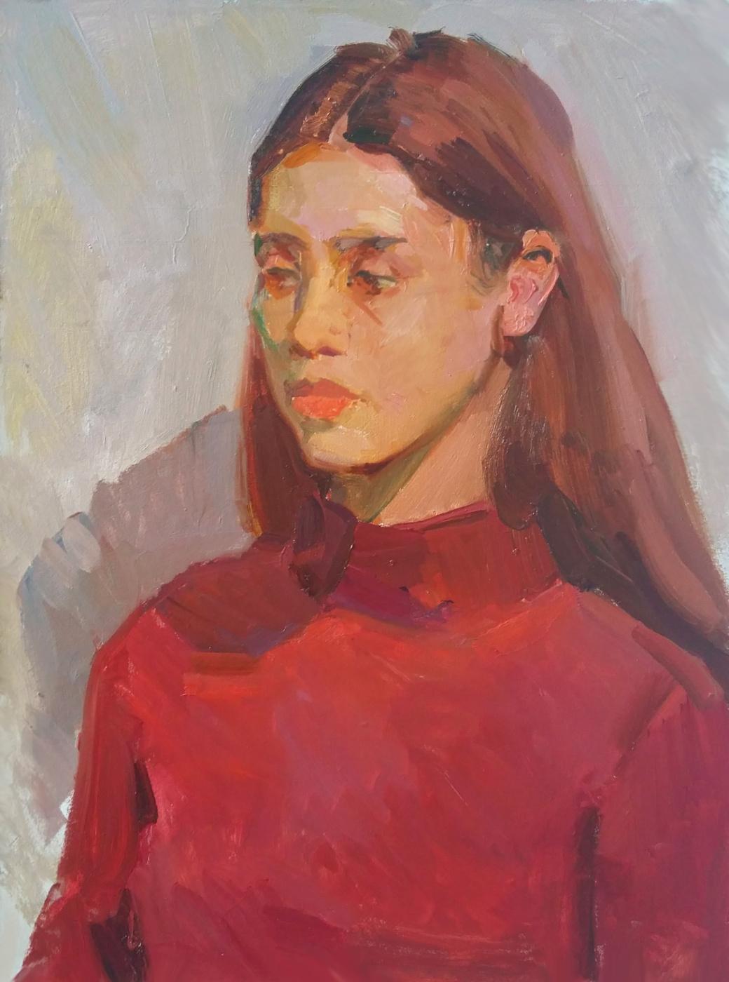 Валкрия Александровна Устюжанина. Shining red