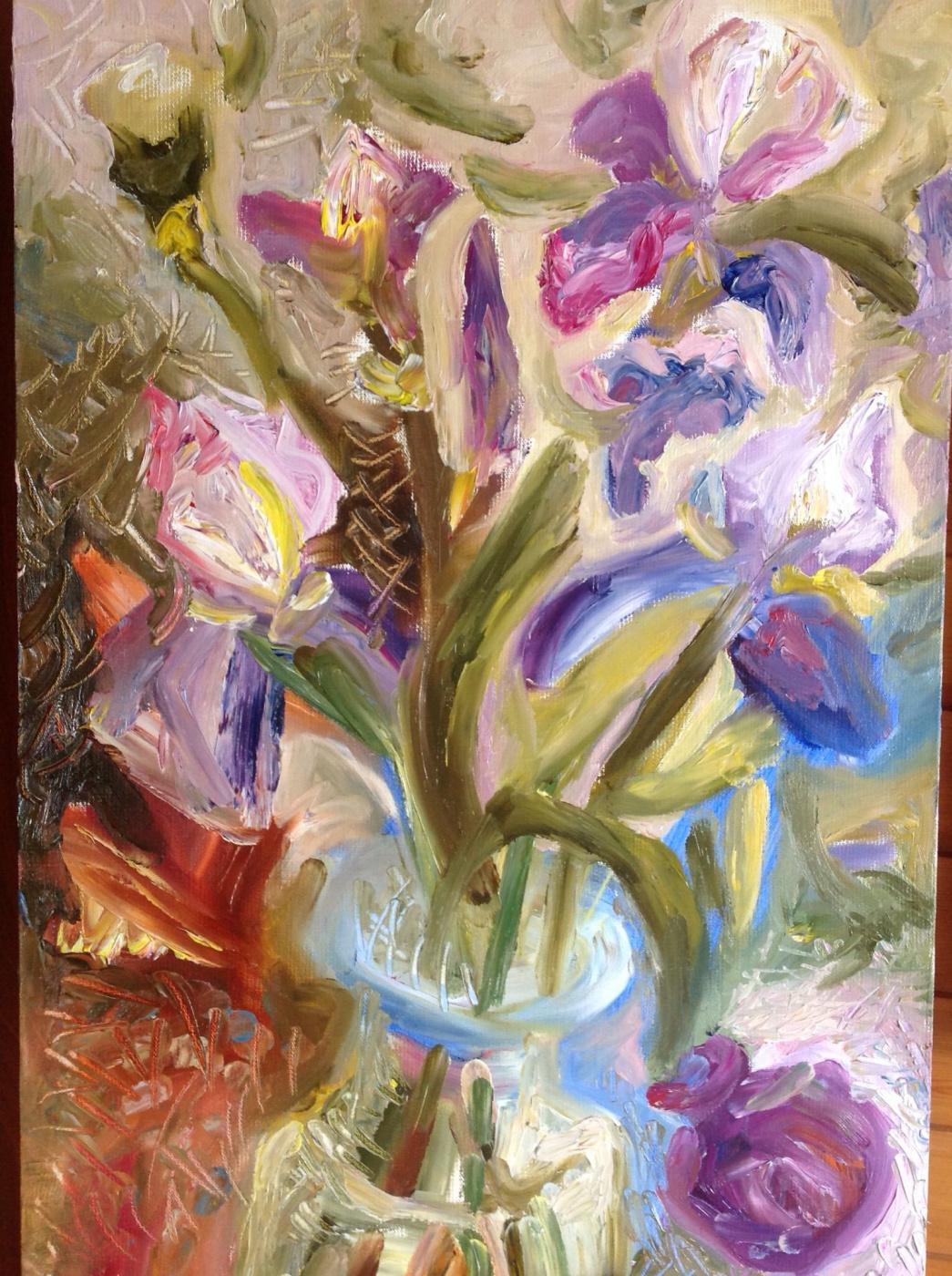 Agnessa Morkovina. Irises