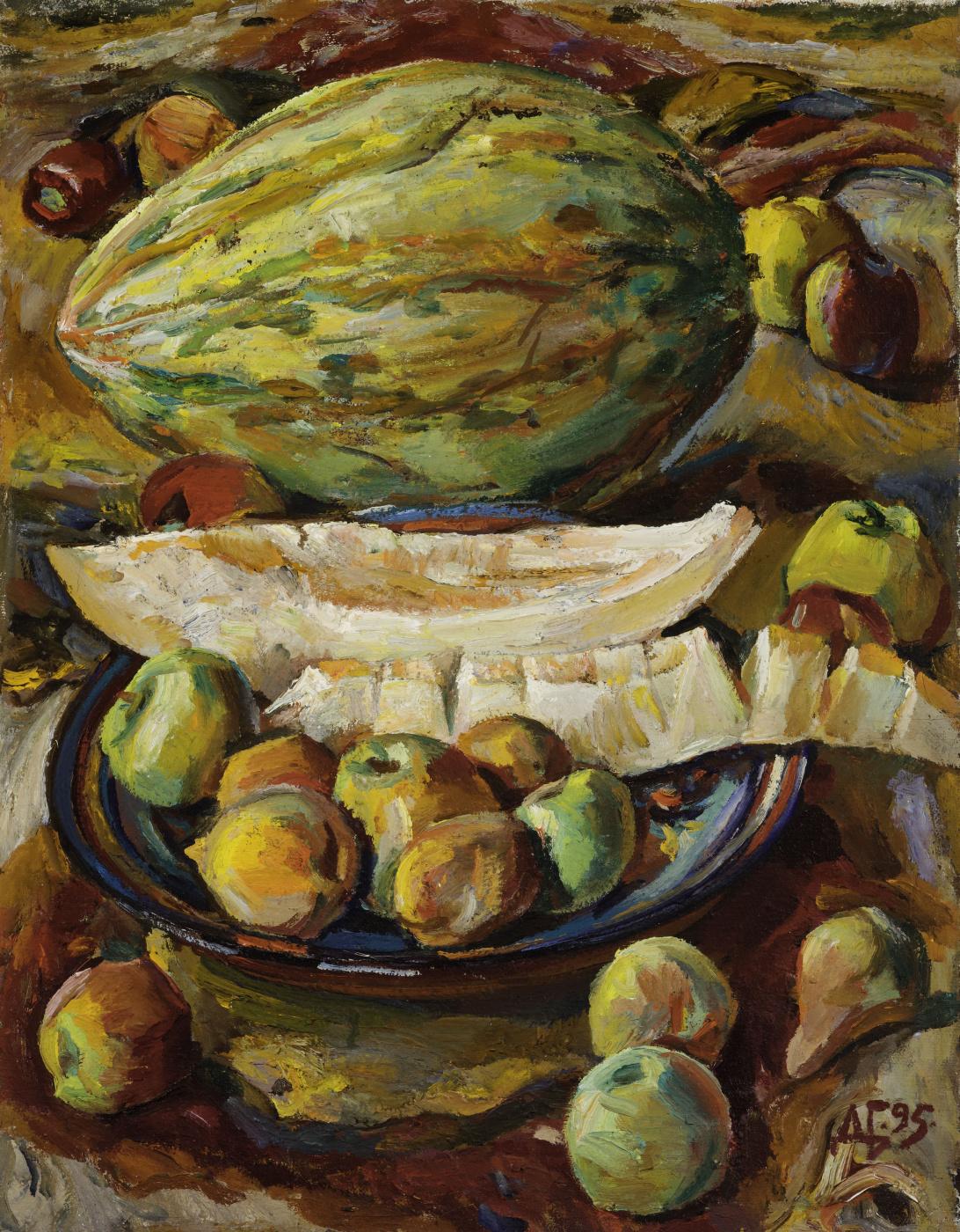 Дурды Байрамович Байрамов. Melon and fruits