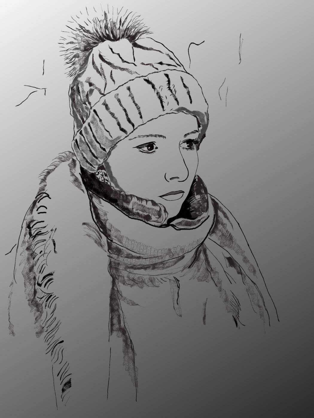 Элеонора Владимировна Чиркова. Автопортрет