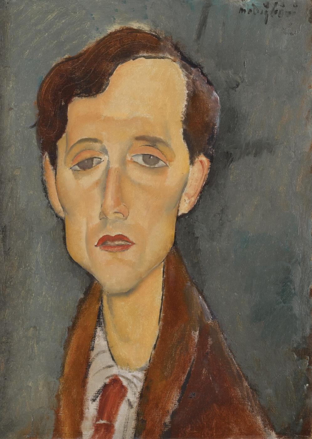 Amedeo Modigliani. Portrait Of Frans Hellens